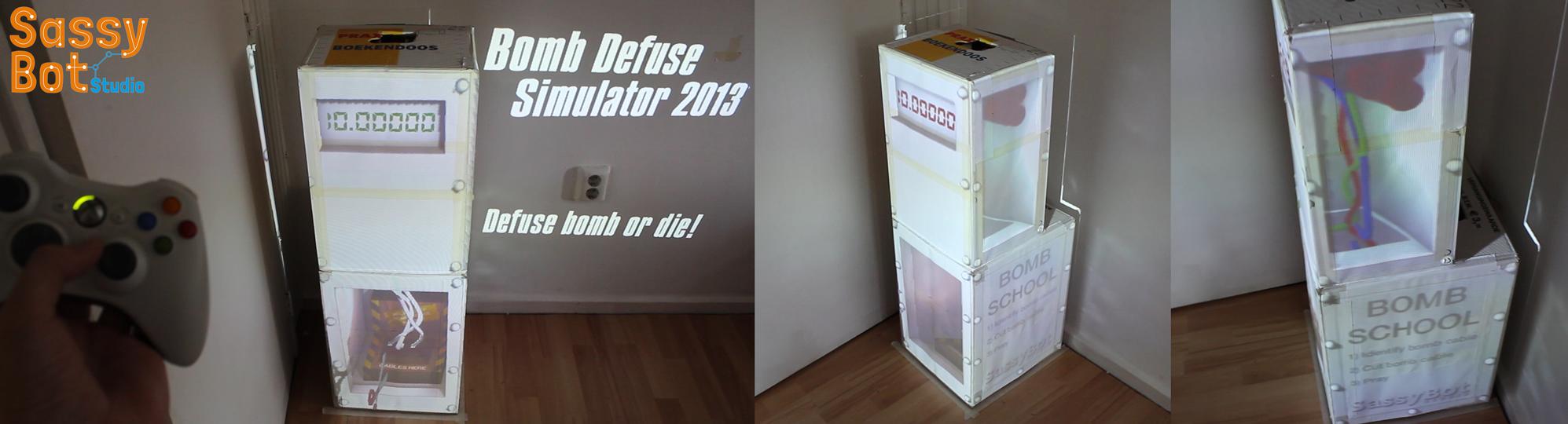 Bomb Defuse Simulator Cover