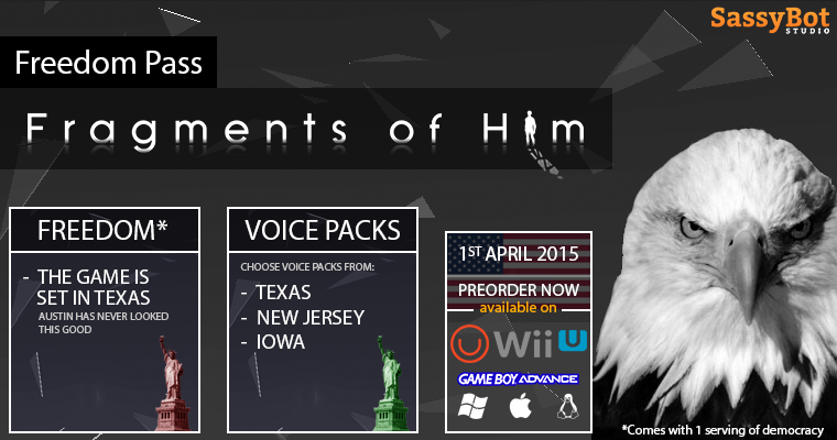 Fragments of Him: Freedom Pass